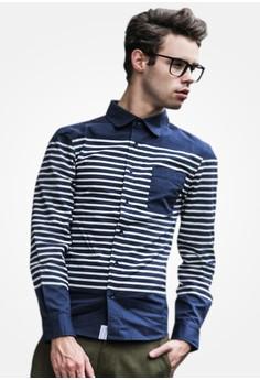 Venice Stripes Cotton Shirt