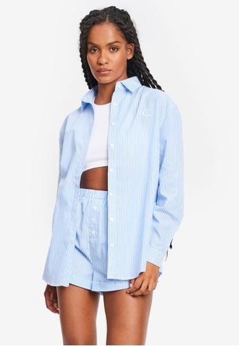 Calli blue Ebony Shirt 38617AA8DE21BAGS_1