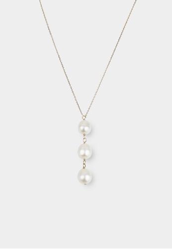 monojewelry ORBS PEARL NECKLACE 5D5BFAC9AAAD2FGS_1