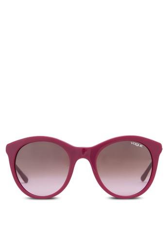 In Voesprit台灣gue 時尚貓眼太陽眼鏡, 飾品配件, 飾品配件