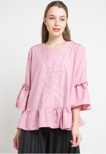 Imperial pink Furla Top 66E30AA588EC15GS_1