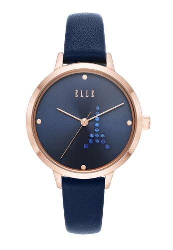 ELLE blue Eiffel Watch ELL25056 45D17AC434A2F7GS_1