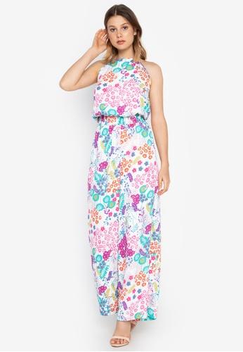 Josie multi Small Floral Jumpsuit 840D2AA2CEFC76GS_1