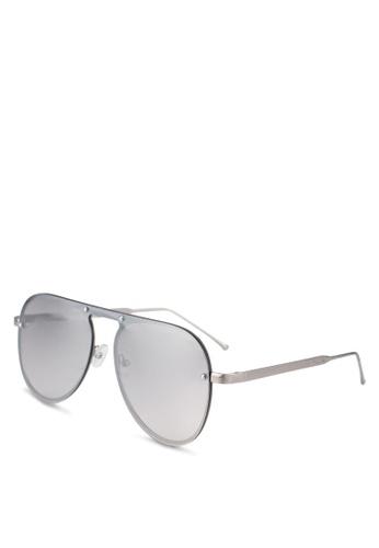 ALDO grey Nydoesen Sunglasses A12E5GLBED0EB1GS_1