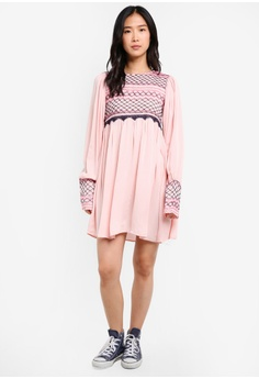 a742765335ae 65% OFF Free People Late Night Picnic Dress RM 662.30 NOW RM 231.90 Sizes M
