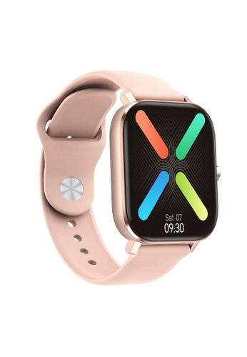 DT pink DTW26+ Bluetooth Call SPO2 & BP Measurement Rotate Button Switch Heart Rate Measurement Waterproof IP68 Smartwatch 09CABAC354A283GS_1