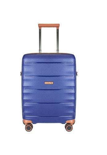 "Valentino Creations blue Nanolite 4 Cabin Size 20"" 9AEC7AC146A431GS_1"