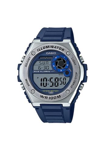 Casio blue CASIO GENERAL MWD-100H-2AVDF MEN'S WATCH 923D7ACC43B9E6GS_1