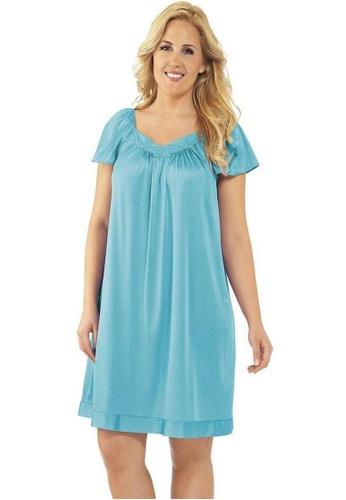 Naturana Flutter Sleeve Evening Gown A1F13AAABDCE34GS_1