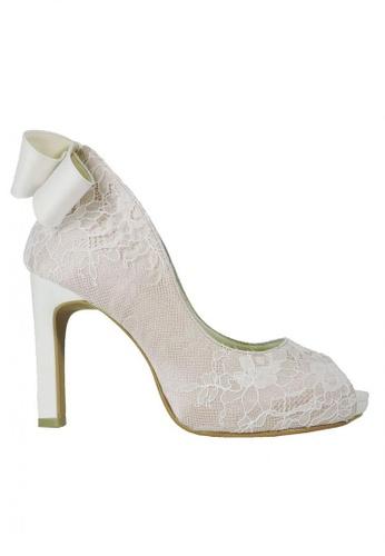 Jacque beige Royal Wedding Nude Heels JA262SH88OZZMY_1