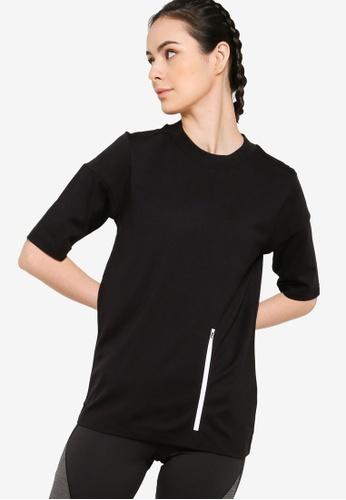 ADIDAS black adidas z.n.e. sportswear tee 5ABA6AA1C4C008GS_1