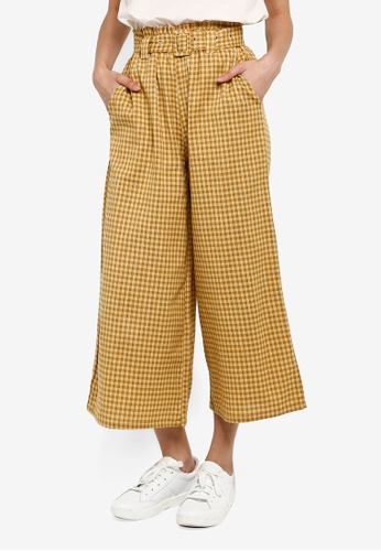 Cotton On yellow High Waist Culottes 2 CA850AAC22BC30GS_1