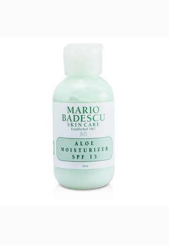 Mario Badescu MARIO BADESCU - Aloe Moisturizer SPF 15 - For Combination/ Oily/ Sensitive Skin Types 59ml/2oz 10AD1BEC7E38D0GS_1