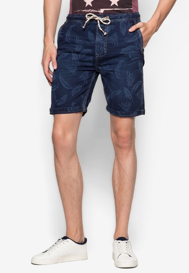Denim Jogging Shorts