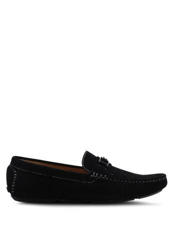 High Cultured black Velvet Loafers-335 09F2CSH3F5F278GS_1
