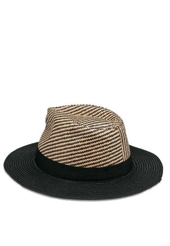 ALDO black Ebury Fedora Hat 83B09ACEF07EE1GS_1