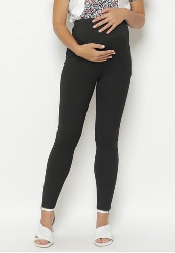Jual La Karina Kathryn K 07009 Celana Legging Hamil Black Dengan Karet Elastis Adjustable Original Zalora Indonesia