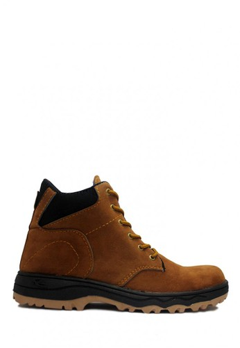 D-Island brown D-Island Shoes Safety Boots Mens Canada Suede Soft Brown DI594SH00ABZID_1