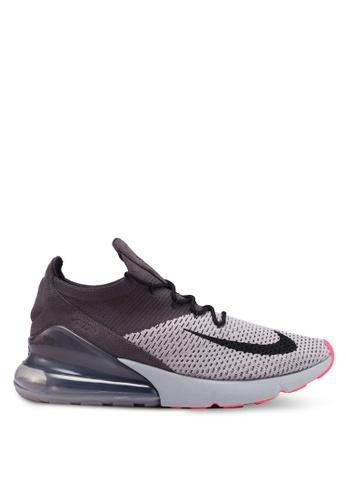 Nike grey Nike Air Max 270 Flyknit Shoes 845E4SHA411F10GS_1