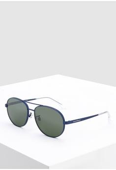 4b09ade8a698 Emporio Armani blue Modern EA2074D Sunglasses 2A325GL09BA89AGS 1
