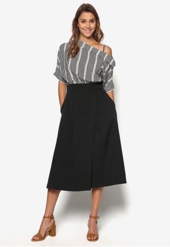 挖肩印花連身裙, 服飾, esprit outlet 台灣洋裝