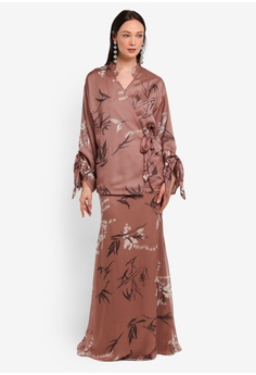 3a97c0e95f330 Alia B. brown Astrid Kimono Top With Mermaid Skirt AL946AA0STDAMY 1