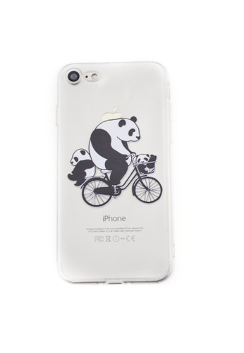 Fancy Cellphone Cases multi Panda Soft Rubber Case for iPhone 7 FA644AC37XNEPH_1