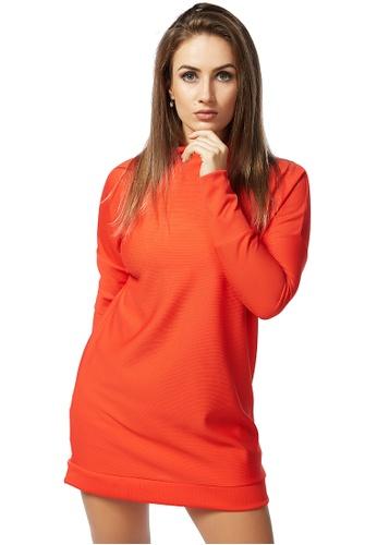 London Rag 紅色 紅色跌膊连衣裙 B04B0AAB5DFD1BGS_1