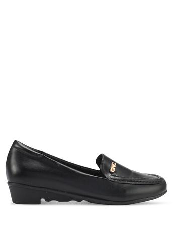 Alfio Raldo black Comfort Loafers AL803SH0SL2EMY_1
