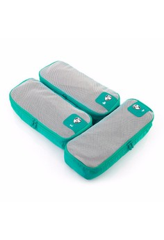 Pack ID 3 pc Slim Packing Cube Set 1s