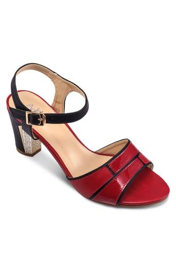 繞踝粗跟高跟涼鞋, 女鞋, esprit outlet 桃園鞋