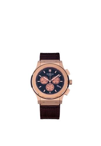 Tomaz Tomaz Men's Watch TQ008B (Rose Gold/Navy) BB2ABACC21084FGS_1