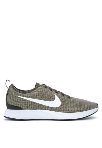 Nike white Men's Nike Dualtone Racer Shoes NI126SH0WCLMID_1