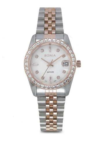 BONIA silver Bonia BNB10087-3657S Stainless Steel Watch BO777AC0SE01MY_1