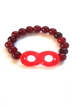 Feng Shui Agate Infinity Lucky Eight Bracelet