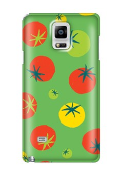 Tomatoes Glossy Hard Case for Samsung Galaxy Note 4