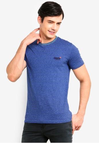 Superdry blue Orange Label Vintage Emb Short Sleeve Tee 573B2AA04DF664GS_1