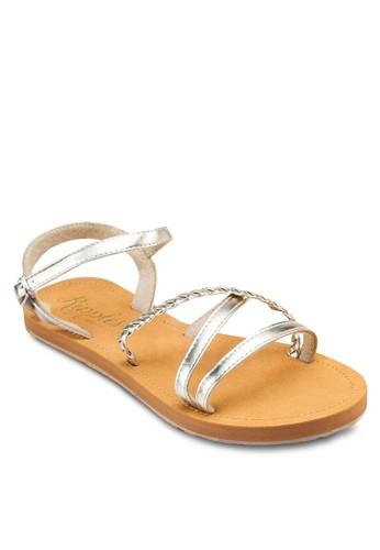 Naomi 多帶esprit 請人平底涼鞋, 女鞋, 鞋