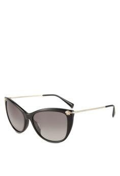 f58191fef013 Versace black Versace VE4345BA Sunglasses 1957DGLA578DEFGS 1