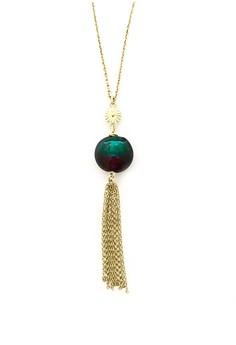 Murano Tassel Necklace