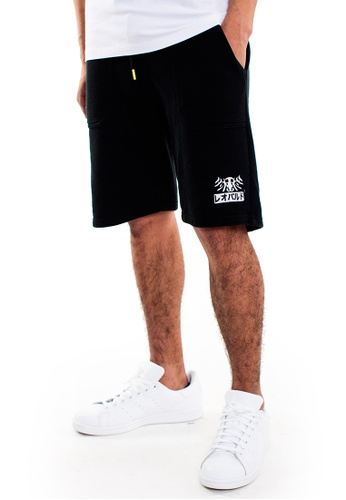 Reoparudo black RPD Brand Logo Reflective Shorts (Black) 07728AAEDAA929GS_1
