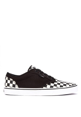 VANS black and multi Atwood Sneakers 6CA5FSHE7A15AFGS_1