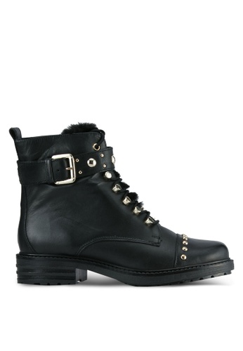 Carvela KG black Black Leather Boots CA459SH0SCLNMY_1