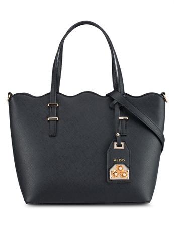 ALDO black Viallan Handbag 8BE6BAC915B558GS_1