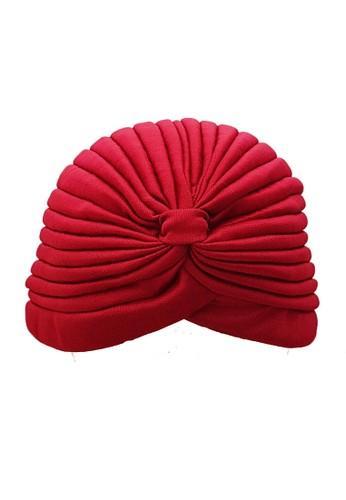 San Marco red SingleTone Turban Polos Red 08CC8AC2F648CAGS_1