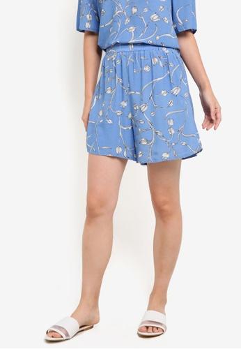 Selected Femme blue Lilica Shorts SE157AA64ZJFMY_1