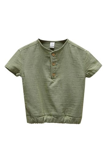 LC Waikiki green Baby Boy T-Shirt 8B814KA105D911GS_1