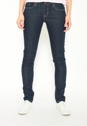 813dbd2a806 DENIZEN blue Women's Skinny Jeans Rinse Denim Blue 318C2AA94C5B36GS_1