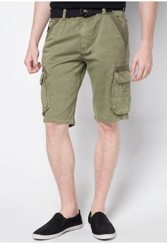 Unltd Col. Cargo Shorts with Belt