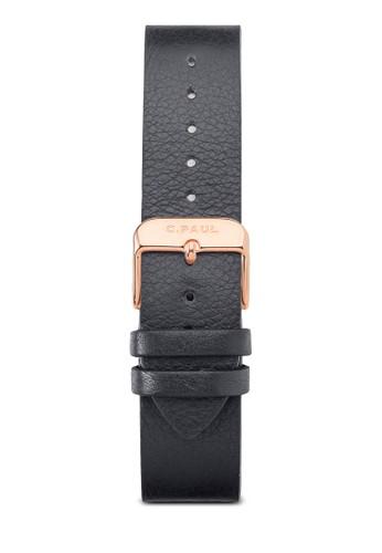 35esprit 會員mm 皮革錶帶, 錶類, 皮革錶帶